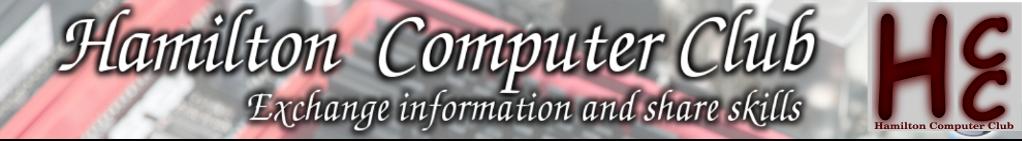 Hamilton Computer Club